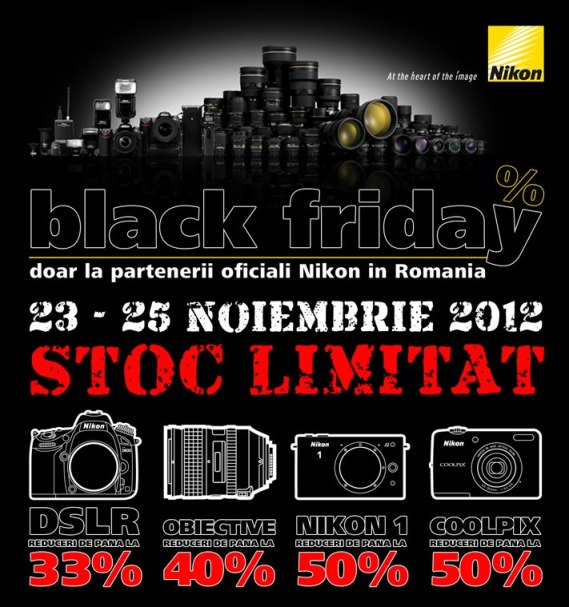 reduceri mari la aparatele foto nikon black friday