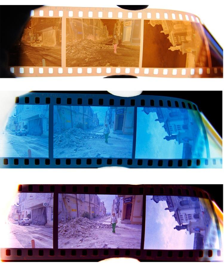 Etape prelucrare film foto negativ color