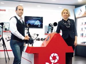 Marian Alecsiu si Dana Becheru, actionari F64