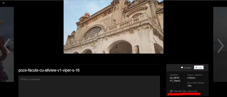 Poze facute cu Allview V1 Viper S