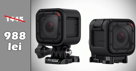 Super oferta la GoPro Hero4 Session – decembrie2015